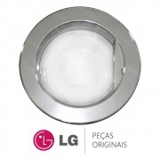 Porta Completa Cromada para Lavadora LG WD-1485TD, WD-1485TDA