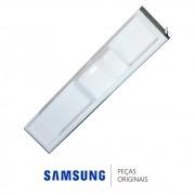 Porta do Freezer em Inox Platinado para Refrigerador Samsung RS21HDUPN