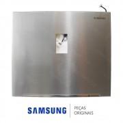 Porta do Freezer em Inox Platinado para Refrigerador Samsung RT38FDAJDSL