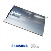 Porta Inferior em Inox Platinado para Refrigerador Samsung RT38FEAJDSL e RT38FEAKDSL
