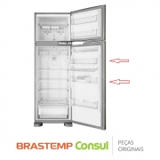 Prateleira Central da Porta W10285319 Refrigerador Brastemp BRM39EK BRM38EB BRM39ER BRM39ZB