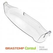 Prateleira de Garrafas (Prateleira Inferior) W10376001 para Geladeira Brastemp BRE50, BRE51, BRM50