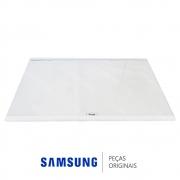 Prateleira Fixa em Vidro Refrigerador Samsung RT35FDAJDSL, RT35FDAJDSL, RT38FDAJDSL, RT38FEAJDSL