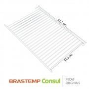 Prateleira / Grade 043166042 / 326003015 para Geladeira Brastemp Consul BRA30, BRA34, BRA35, BRD32, CRA30, CRA31,