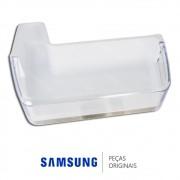 Prateleira Inferior da Porta Esquerda para Refrigerador French Door Samsung RFG28MESL