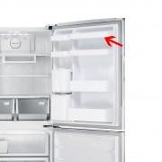 Prateleira Média Superior da Porta para Refrigerador Samsung Diversos Modelos