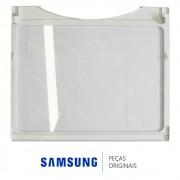 Prateleira Superior em Vidro Temperado Para Refrigerador Samsung Side by Side RS21DAMS, RS21DASW, RS21FASM