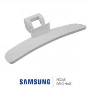 Puxador da Porta Branco DC64-01524BLava e Seca Samsung WD103U4SAWQ/AZ WD103U4SAWQFAZ