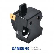 Relé 10 OHM do Compressor para Refrigerador Samsung RF26DEUS, RF62TBPN, RL62TCPN, RL62TCSW