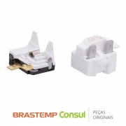 Rele / Capacitor PTC 326028874 Geladeira Brastemp / Consul CRD40A, BRD46C, BRM34B, BRM35BR, BRM44Q