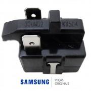 Relé de Partida J535Q35E330M3852 33 OHM do Compressor para Refrigerador Samsung RS21DASV