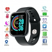Relógio Inteligente Smartwatch D20 FIT PRO Preto 1.3