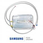 Reservatório de Água Interno com Resistência 12v 2w para Refrigerador French Door Samsung RF26DEUS