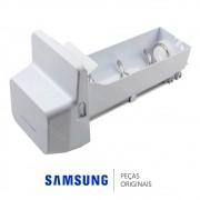 Reservatório de Gelo do Ice Maker com Triturador para Refrigerador Samsung RF26DEUS1