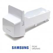 Reservatório de Gelo do Ice Maker com Triturador para Refrigerador Samsung RF26DEUS, RFG28MESL