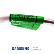 Resistência de Degelo 127V 140W do Refrigerador Samsung RS21HDTSW, RS21HDTTS, RS21HDUPN, RS21HDUSW
