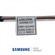 Resistência de Degelo do Freezer 110V 250W para Refrigerador Samsung RSH1DTMH, RSH1DTSW, RSH1KLBG