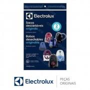 Sacos Descartáveis (3 Unidades) DT30BGBR001P Aspirdor de Pó Electrolux SON10, ONE1, TRIO, MAXTRIO