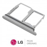 Slot / Bandeja do Chip Platinum Celular / Smartphone LG G6 LGH870