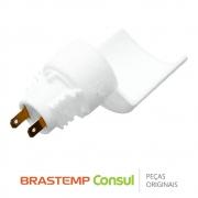 Soquete da Lâmpada do Refrigerador W10272855 para Geladeira Brastemp Consul BRM36D, BRM48N, BRT38A, CRD46A