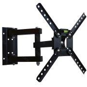 Suporte de Parede Bi-Articulado Brasforma SBRP140 para TV LED, LCD e Plasma de 10 até 55 Polegadas