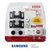 Suporte de Parede Universal Fixo SBRUB759 Brasforma para TV's LED e LCD de 10 até 71 Polegadas