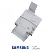 Tampa do Evaporador com Isolante em Isopor e Ventilador Refrigerador Samsung RS21HDTSW1, RS21HDTTS1
