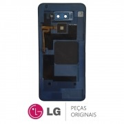 Tampa Traseira Azul Celular / Smartphone LG K12 Max LMX520BMW