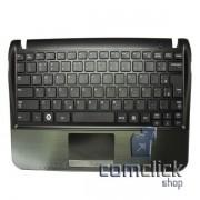 Teclado em Português com Gabinete Superior e Touchpad para Netbook Samsung NP-NF210
