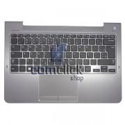 Teclado em Português com Tampa Superior e Touchpad para Ultrabook Samsung NP540U3C