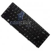 Teclado Preto no Padrão Inglês para Notebook Samsung NP-R430, NP-R440