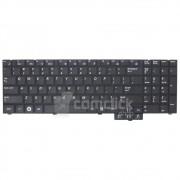Teclado Preto no Padrão Inglês para Notebook Samsung NP-R530, NP-R540, NP-P530