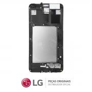 Tela / Display com Moldura e Touchscreen ACQ89593801 Celular LG K4 LGX230DS, LG K4 LGX230DSV