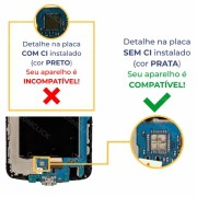 Tela / Display com Moldura e Touchscreen Preta EAX66846301 Celular LG K10 LGK430DSF, LG K10 LGK430F