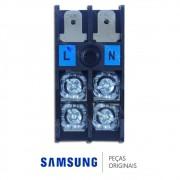 Terminal de Conexão do Cabo de Força da Condensadora para Ar Condicionado Samsung Diversos Modelos