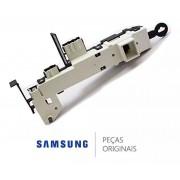 Trava da Porta 110v para Lavadora e Lava e Seca Samsung WD1142XVM, WD136UVHJWD, WF431ABP