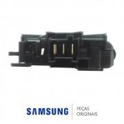 Trava da Porta 220V DC34-00026A Lava e Seca Samsung WD90J6410AW WD10J6410AX WD90J6410AX