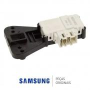 Trava da Porta 220v Lavadora e Lava e Seca Samsung WD0854, WD856U, WD8854, WF106U, WF0802 e WF0700