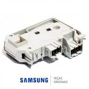 Trava da Porta 220v para Lavadora e Lava e Seca Samsung WD-Q1255V, WD-Q1456V