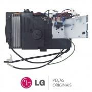 Unidade de Controle com Placa Condensadora EBR71847801 Ar Condicionado LG ASUQ092B4A0, ASUQ092BRW0