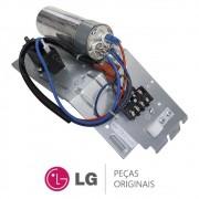 Unidade de Controle da Condensadora (Capacitores + Terminal) Ar Condicionado LG TSUH122H4W0