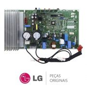 Unidade de controle (Placa Principal) Condensadora ABQ73965408 Ar Condicionado LG AUUQ18GH1