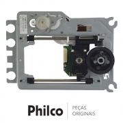 Unidade Ótica / Leitor DVM-34 ROHS / SOH DL6 MEC DVD Philco PH170 PH170N PH148R PH155L PH190 HDMI