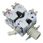 Válvula de Entrada de Água 4 Vias 110V 5221ER1002C Lava e Seca LG WD-1250ARD, WD-1250ERD, WD-S12MPAC