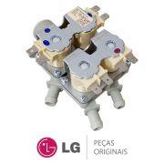 Válvula de Entrada de Água 4 Vias 220-240V 50/60HZ 5221ER1002A para Lava e Seca LG WD-1250ARD