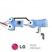 Válvula de Entrada de Água AJU72952601 Refrigerador LG GC-L217BSKV, GC-P216BSK1, GC-P217BSKV