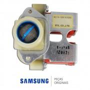 Válvula de Entrada de Água Dupla 110v para Lavadora e Secadora Samsung Q1244ATDW, WD-Q1255V, WD-Q1456V