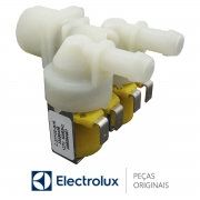 Válvula de Entrada de Água Dupla 127V 50/60HZ A99084601A Lavadora Electrolux LAC11 LAC09 LAC16 LPR13