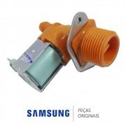Válvula de Entrada de Água Simples 110v para Lavadora e Secadora Samsung Diversos Modelos