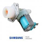 Válvula de Entrada de Água Simples 110v para Lavadora Samsung WF316BAW, WF448AAP
